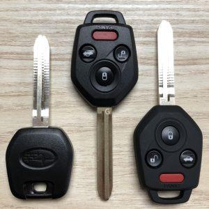 New Subaru Car Keys