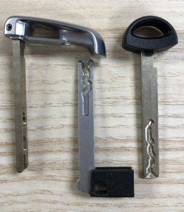 BMW Emergency Keys